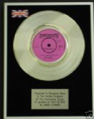 "AMEN CORNER 7""Platinum Disc IF PARADISE IS HALF AS NICE"